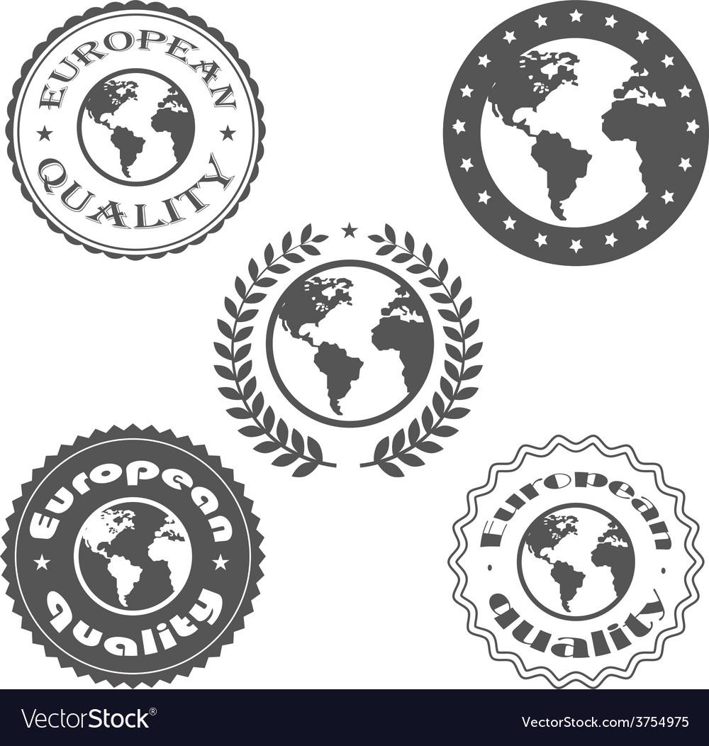 European quality vector | Price: 1 Credit (USD $1)