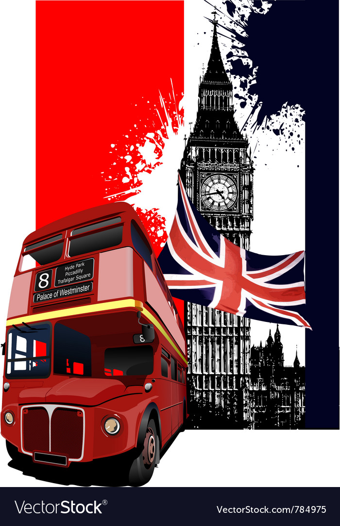 London poster vector | Price: 1 Credit (USD $1)