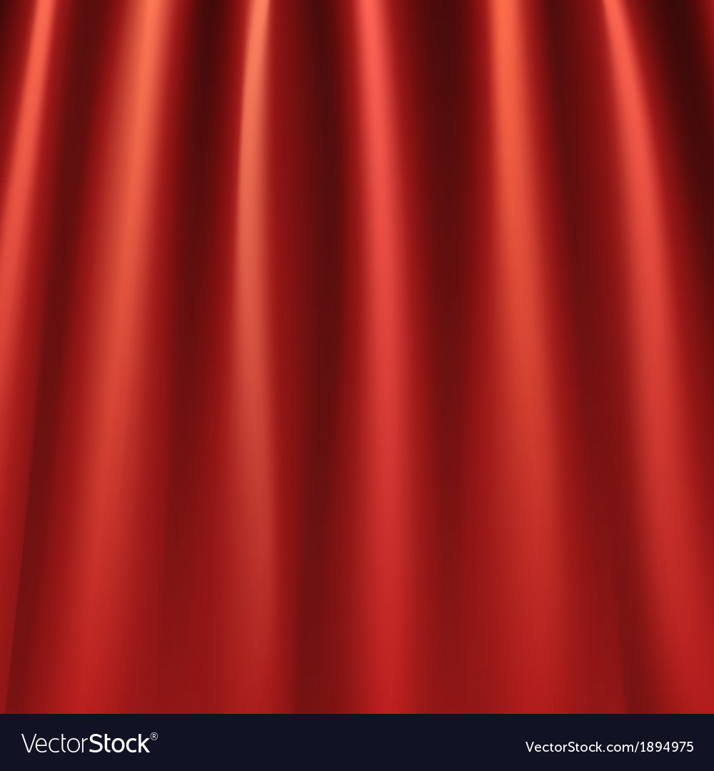 Red curtains background vector | Price: 1 Credit (USD $1)