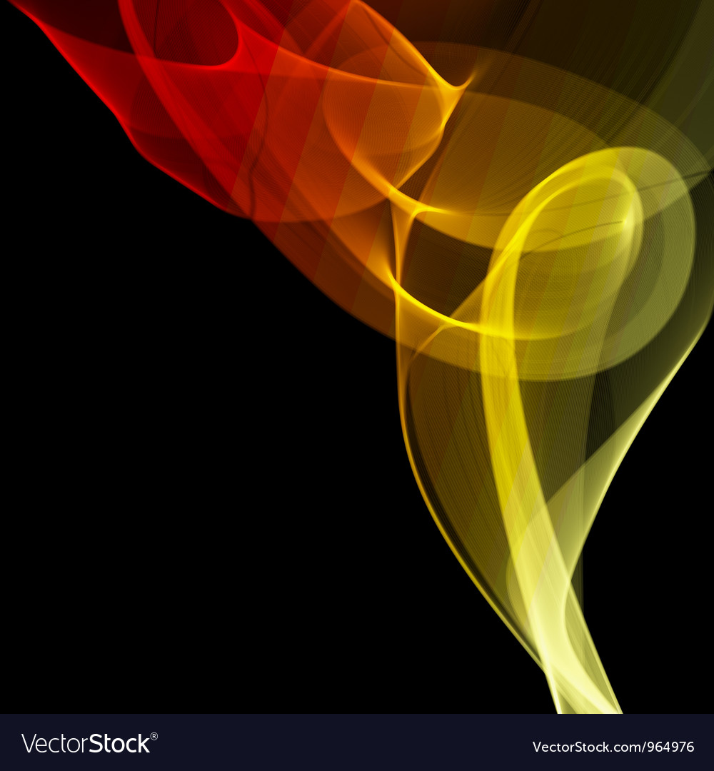 Abstract fire colored smoke vector | Price: 1 Credit (USD $1)