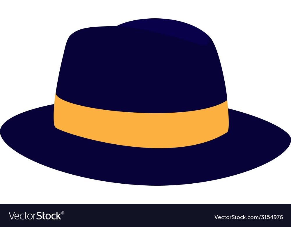 Fedora hat vector | Price: 1 Credit (USD $1)