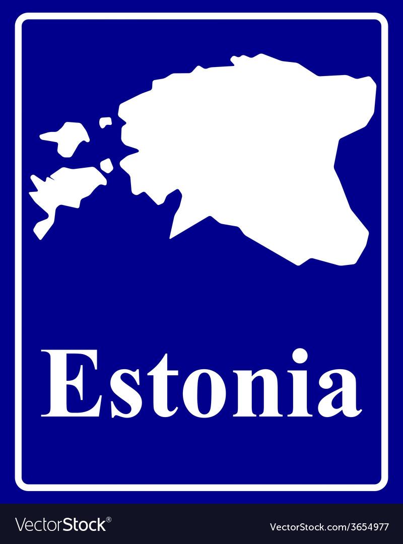 Estonia vector | Price: 1 Credit (USD $1)