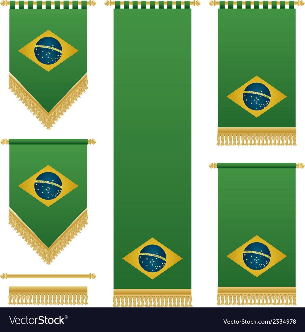 Brazil wall hangings vector | Price: 1 Credit (USD $1)