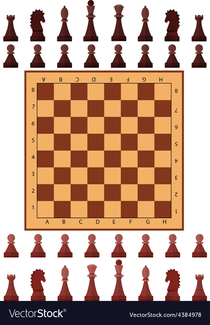Chess playing figure pawn vector | Price: 1 Credit (USD $1)
