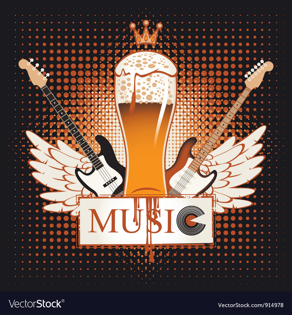 Live music vector | Price: 1 Credit (USD $1)