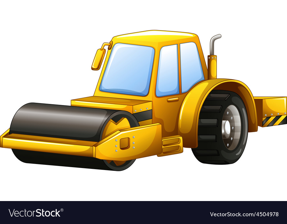 Steam roller vector | Price: 1 Credit (USD $1)