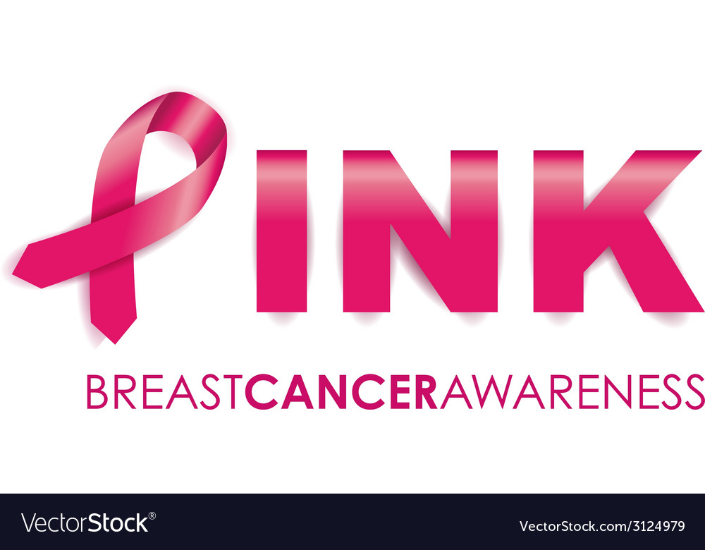 Breast cancer background vector | Price: 1 Credit (USD $1)