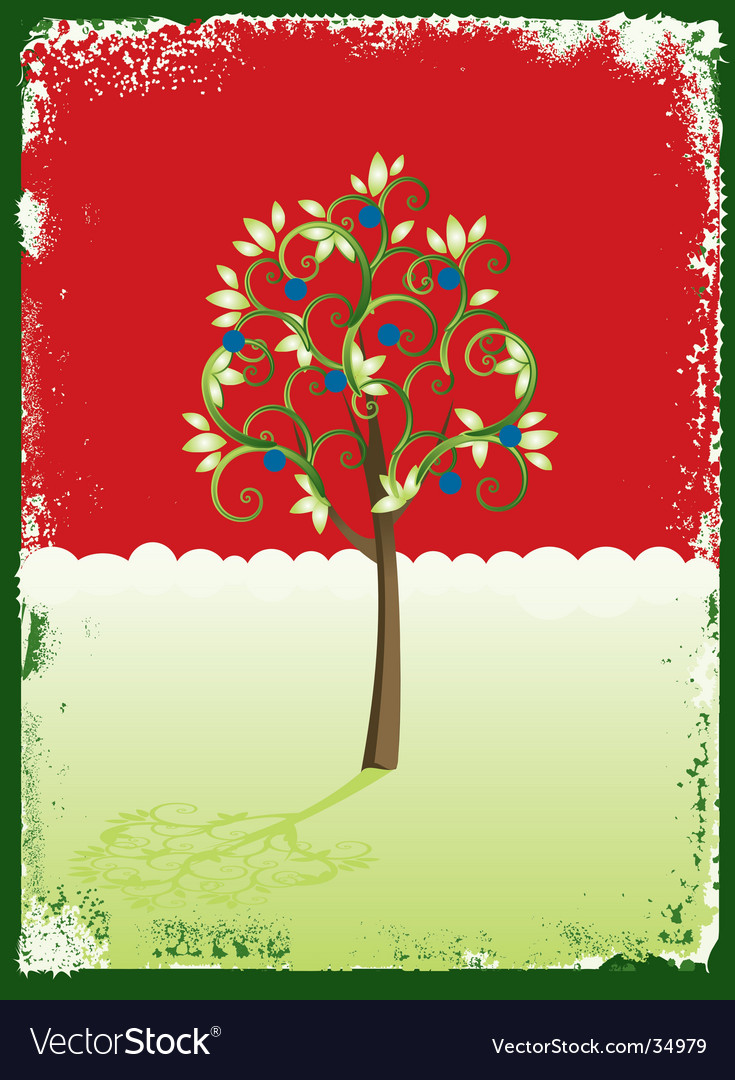 Christmas card background vector | Price: 1 Credit (USD $1)