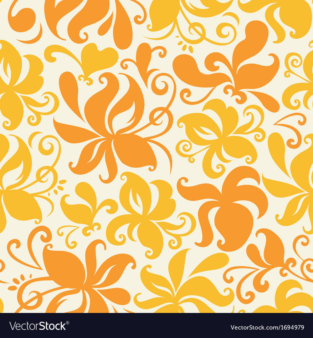 Colored floral pattern vector | Price: 1 Credit (USD $1)