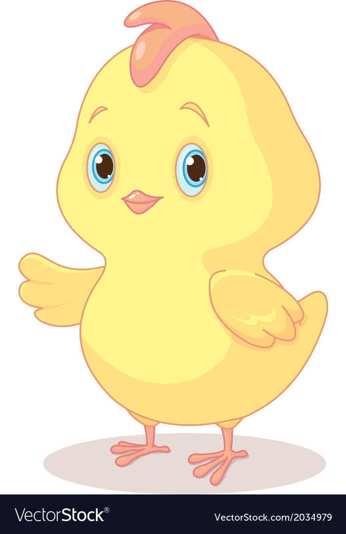 Easter chick vector | Price: 1 Credit (USD $1)