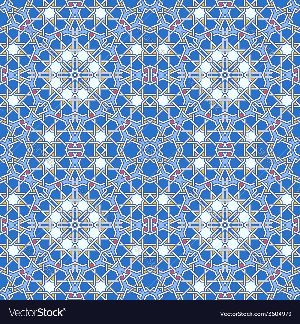 Intricate moorish eastern pattern vector | Price: 1 Credit (USD $1)