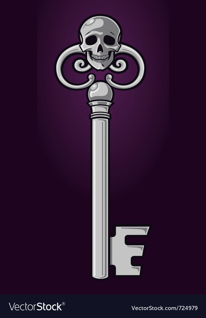Skeleton key vector | Price: 1 Credit (USD $1)