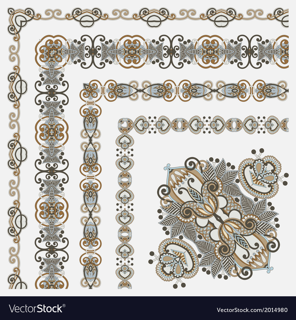 Floral vintage frame design se vector | Price: 1 Credit (USD $1)