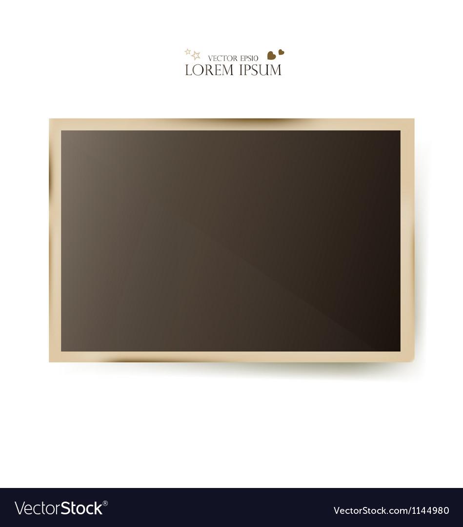 Photo slides frame vector | Price: 1 Credit (USD $1)
