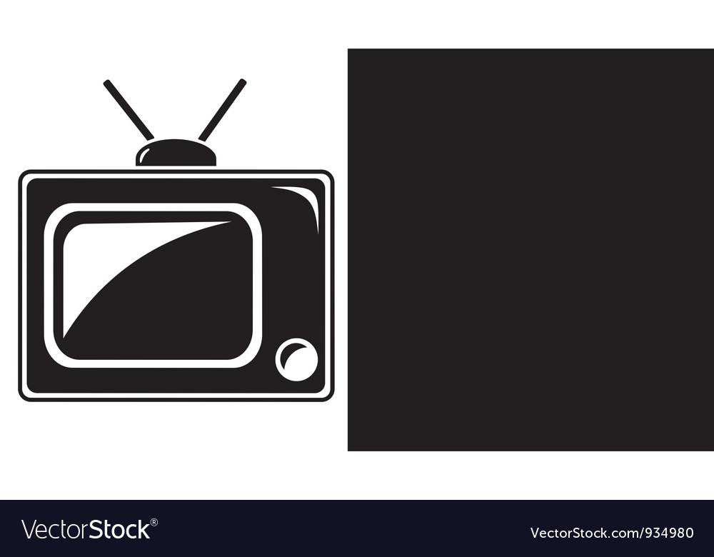 Television vector | Price: 1 Credit (USD $1)