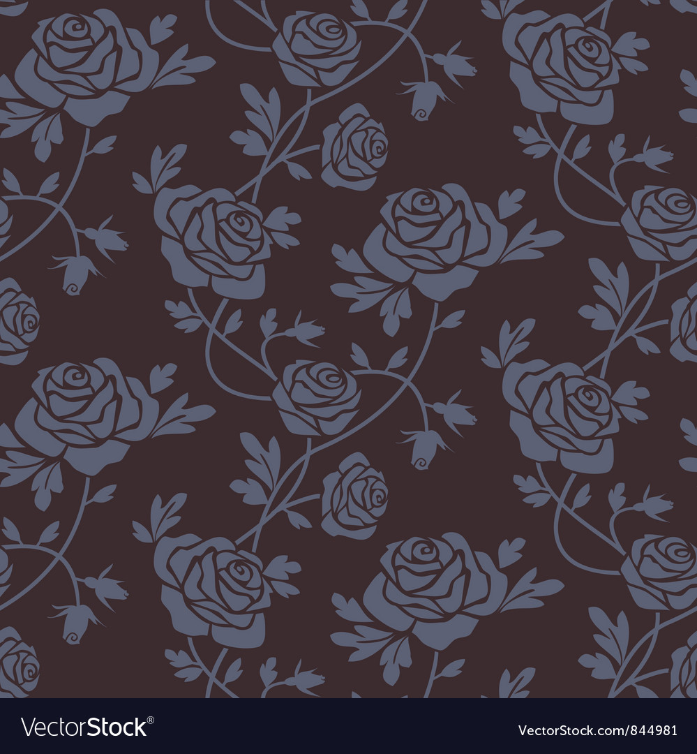 Roses damask vector | Price: 1 Credit (USD $1)