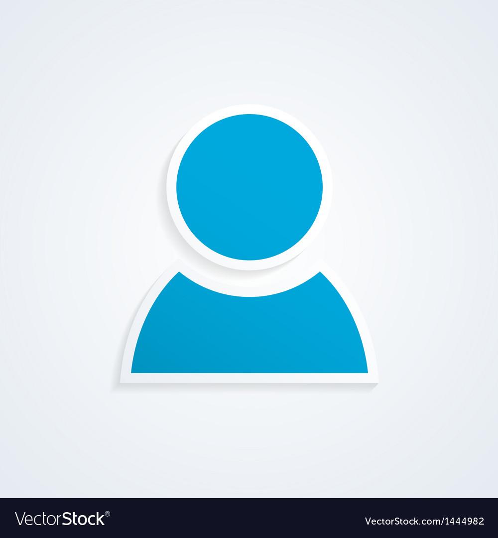 User icon vector | Price: 1 Credit (USD $1)