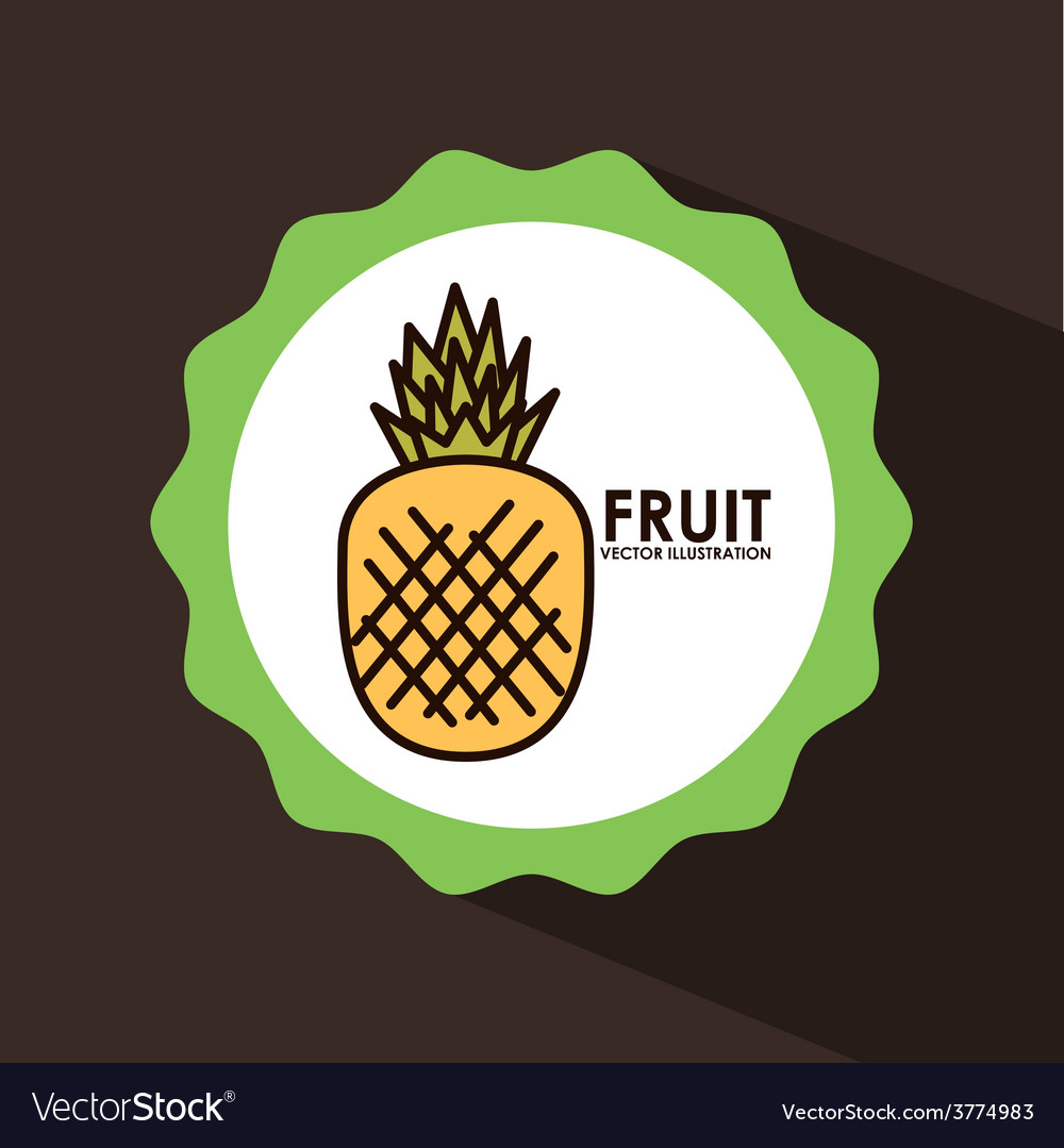 Fruit seal vector | Price: 1 Credit (USD $1)