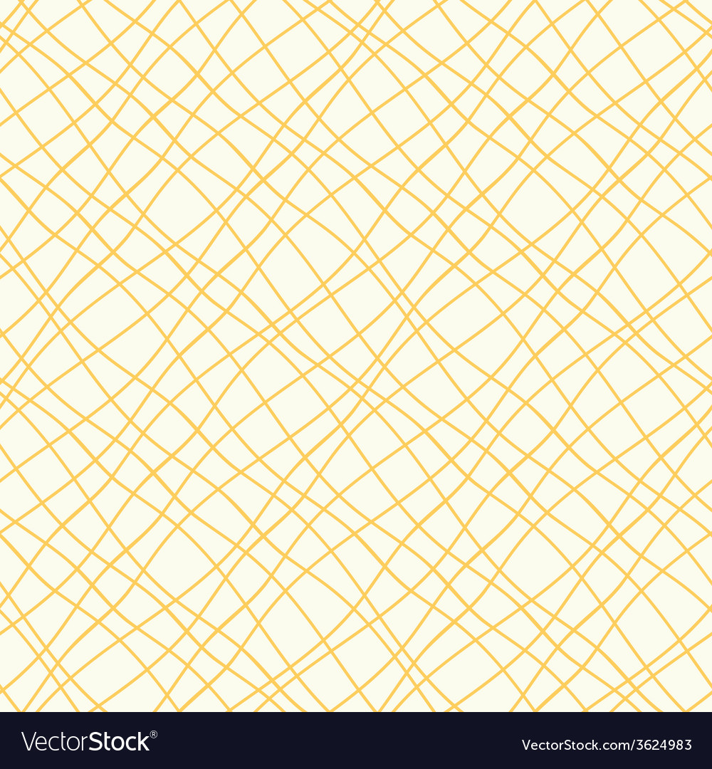 Seamless pattern with crossed wavy lines vector | Price: 1 Credit (USD $1)