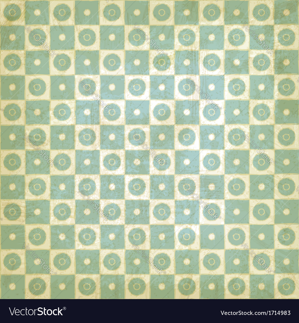 Vintage background with geometric pattern vector | Price: 1 Credit (USD $1)