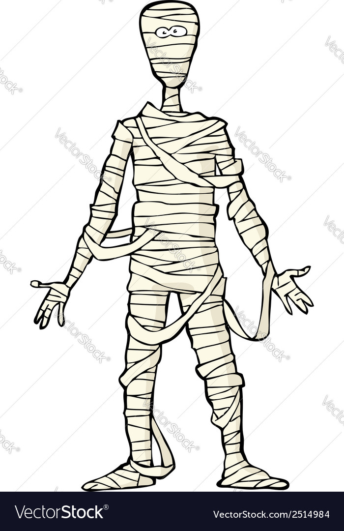 Ancient egyptian mummy vector | Price: 1 Credit (USD $1)