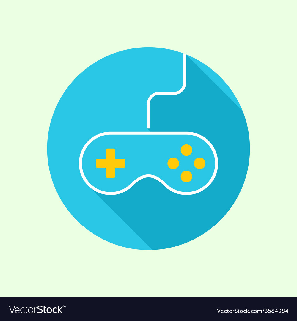 Game background wire and joystick vector