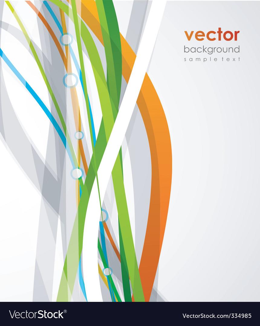 Contemporary background design vector | Price: 1 Credit (USD $1)