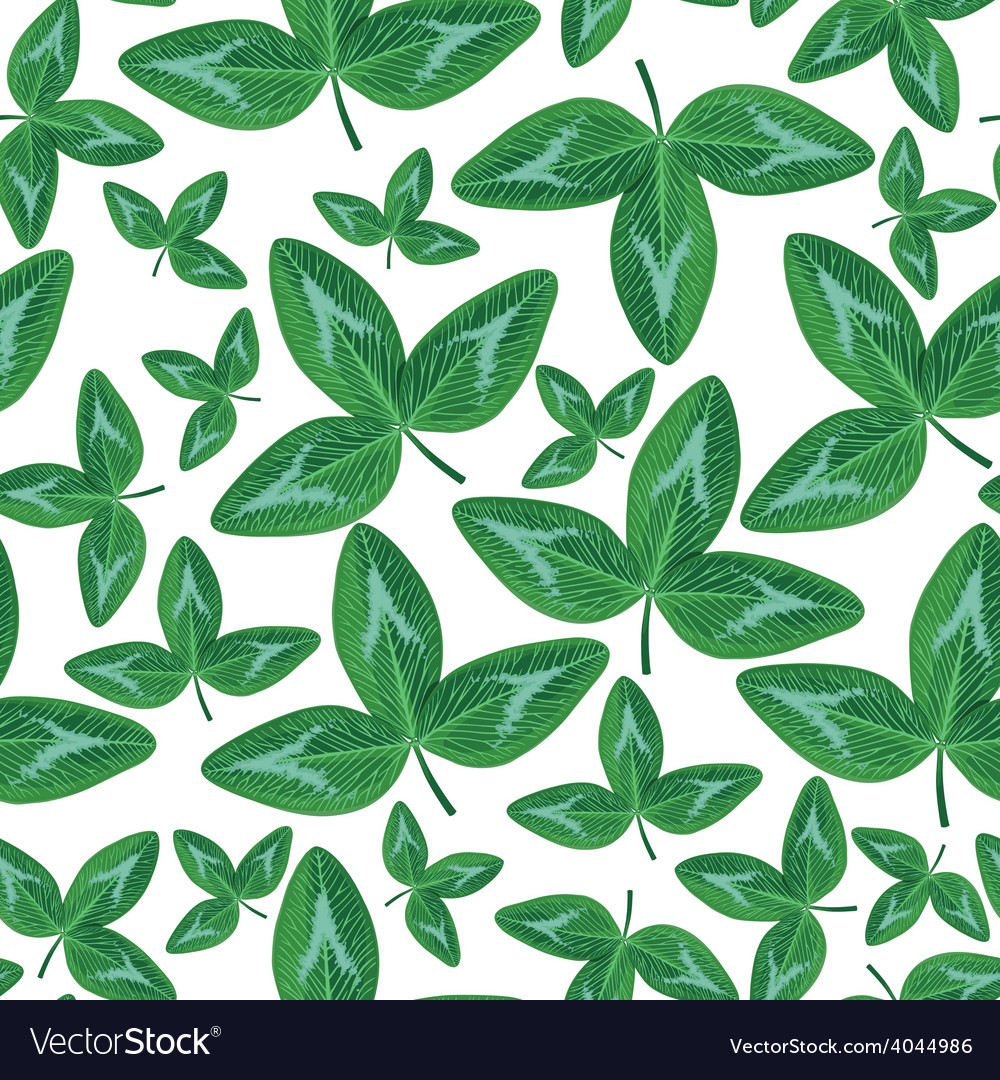 Clover seamless2 vector | Price: 1 Credit (USD $1)