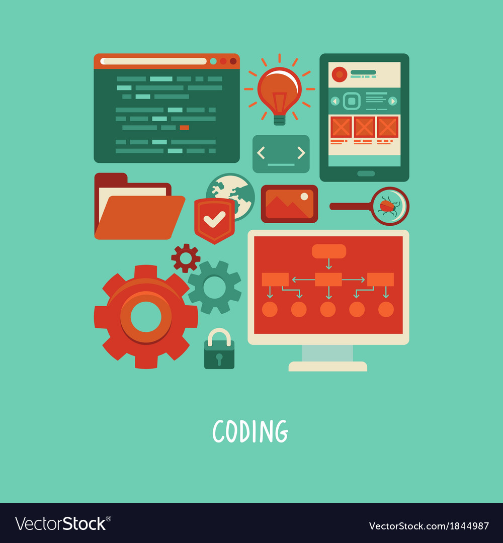 Coding vector | Price: 1 Credit (USD $1)
