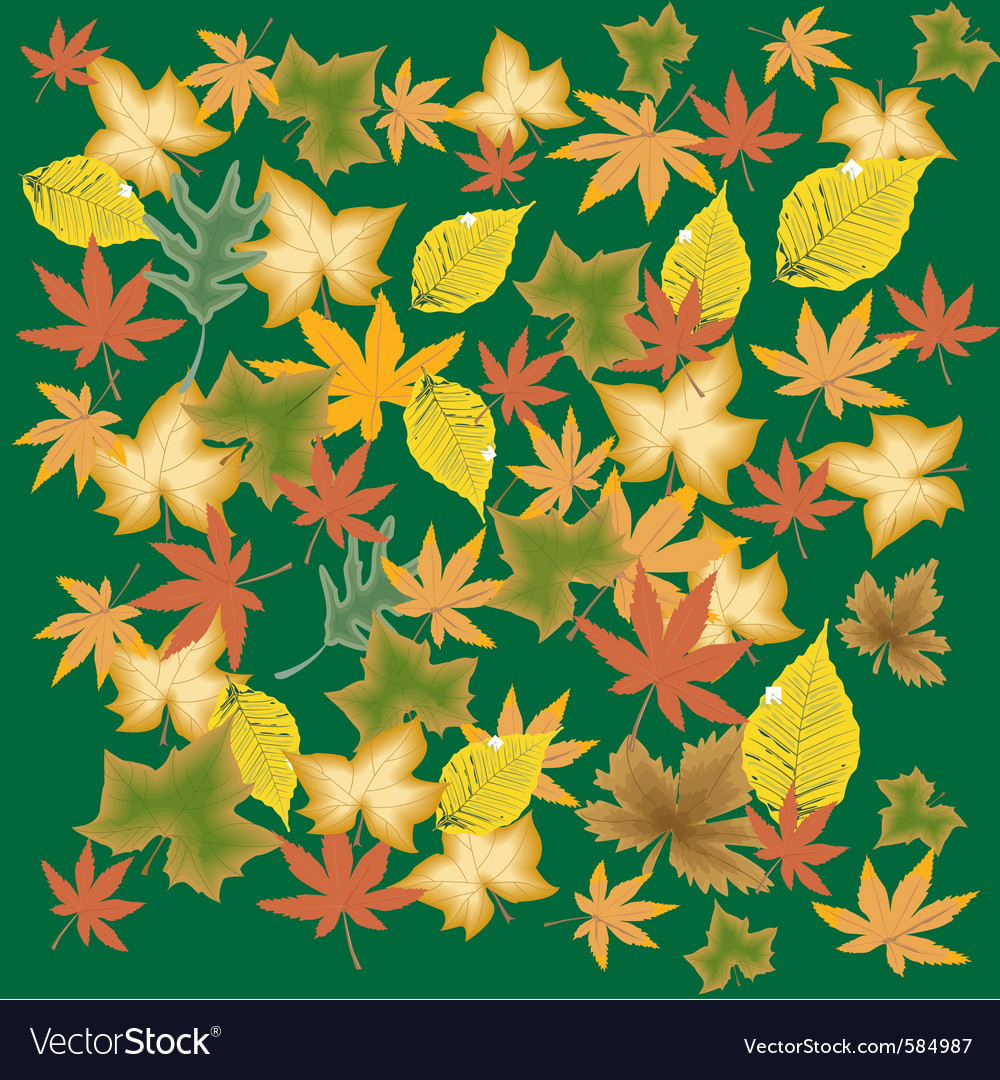 Leave background vector | Price: 1 Credit (USD $1)