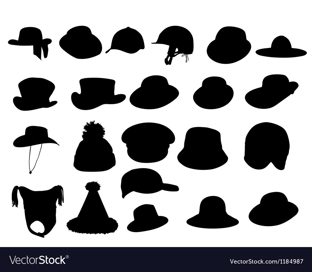 Wallets collection silhouette vector | Price: 1 Credit (USD $1)