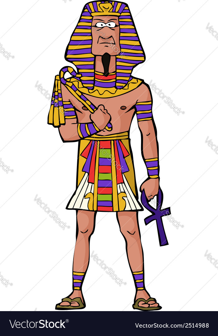 Ancient egyptian pharaoh vector   Price: 1 Credit (USD $1)