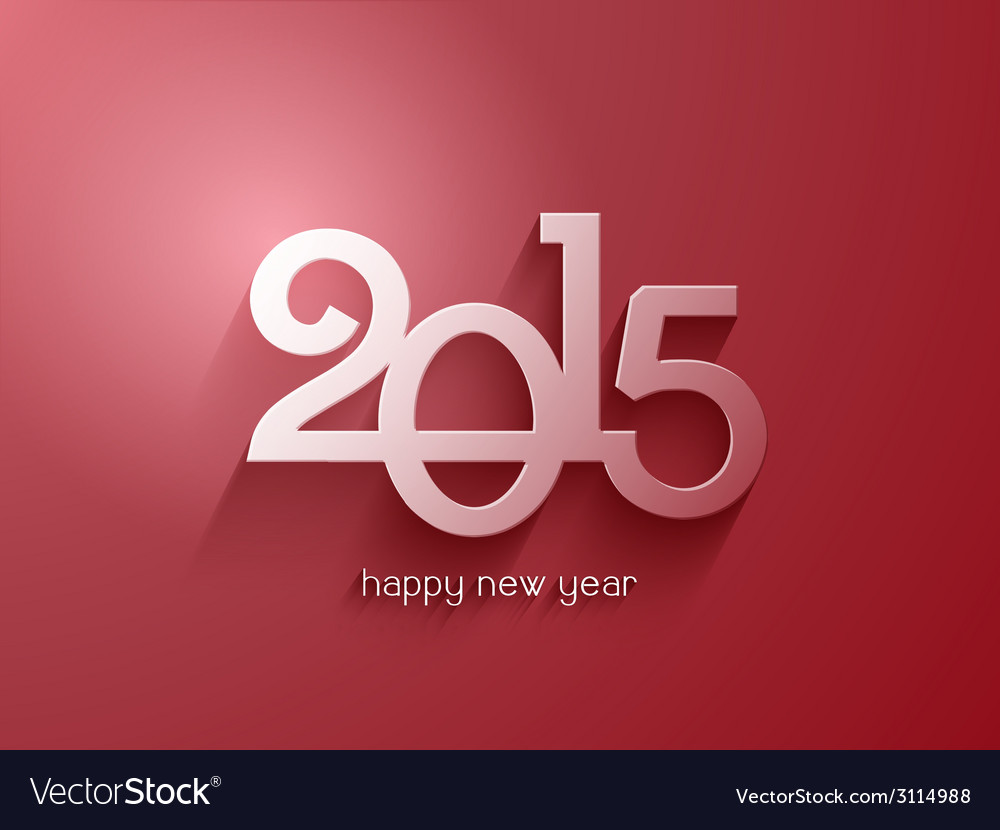 Happy new year background vector   Price: 1 Credit (USD $1)