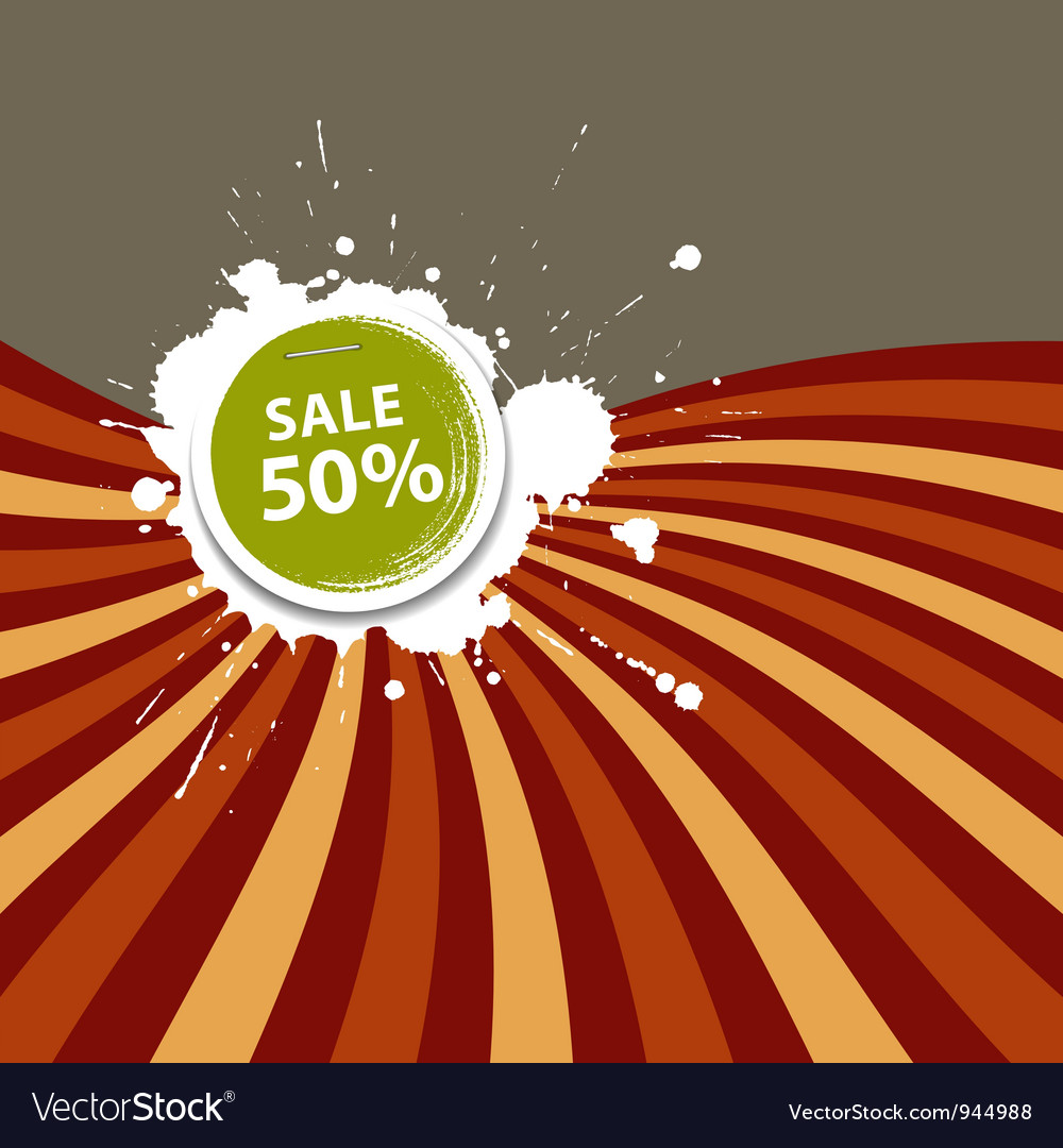 Sale price tag colorful background vector | Price: 1 Credit (USD $1)