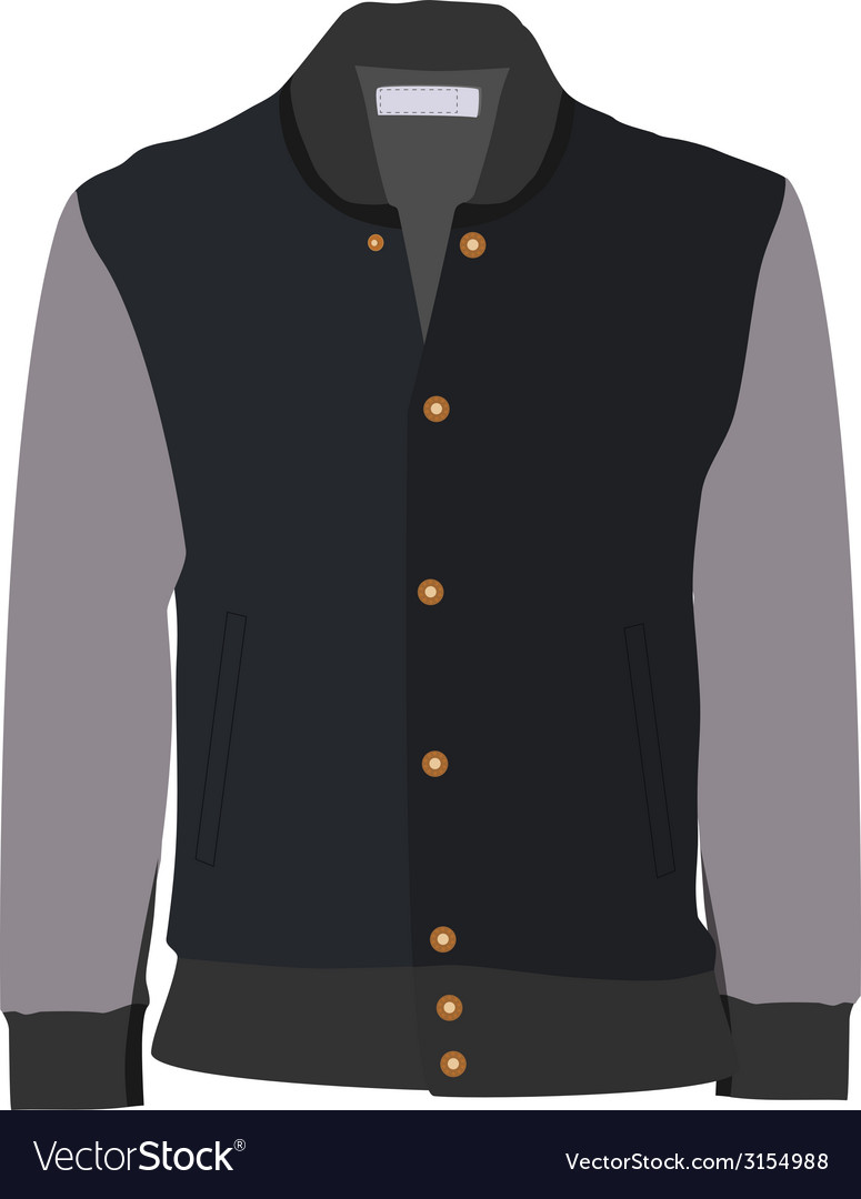 Sport jacket vector | Price: 1 Credit (USD $1)