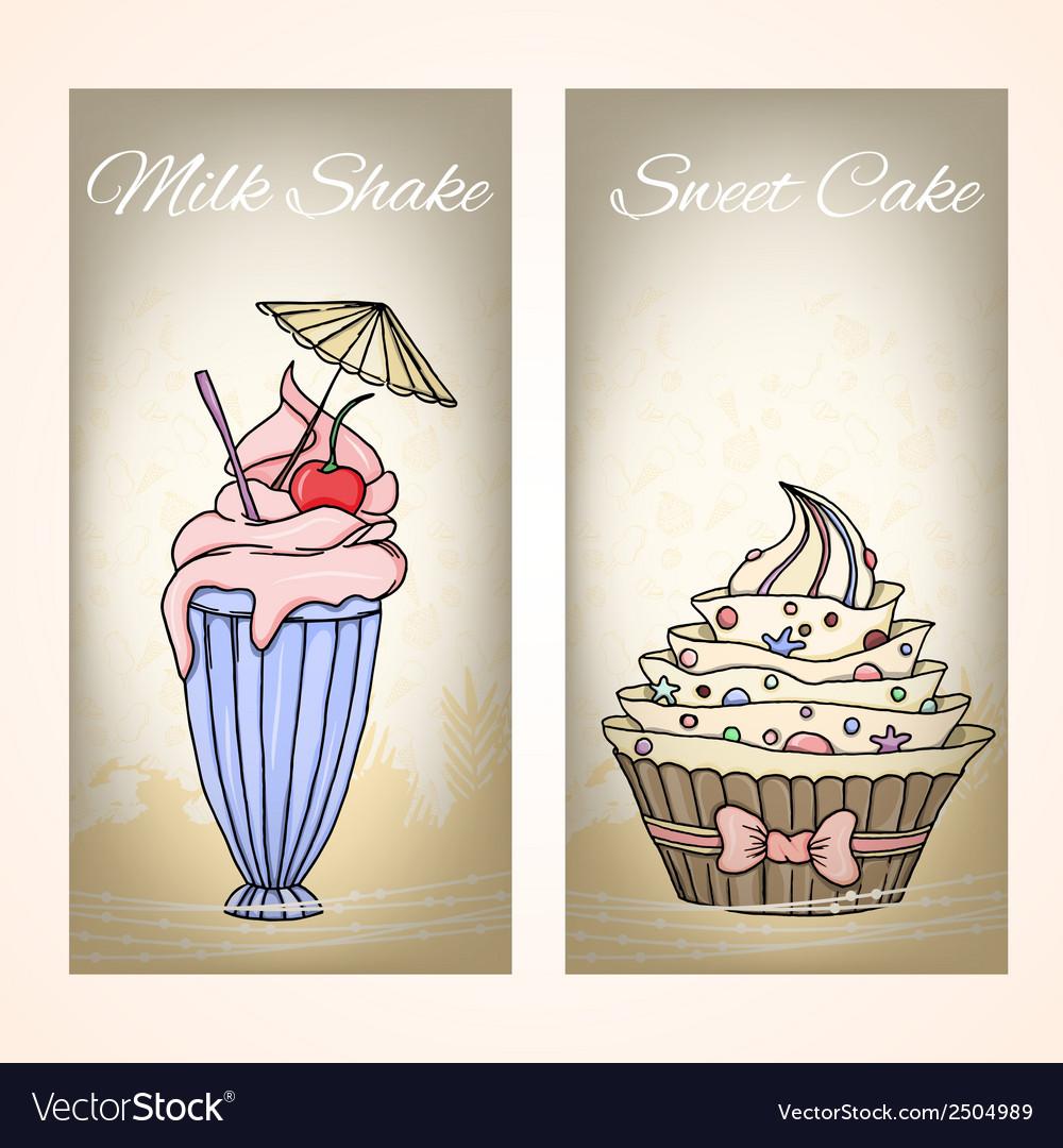 Cake card vector   Price: 1 Credit (USD $1)