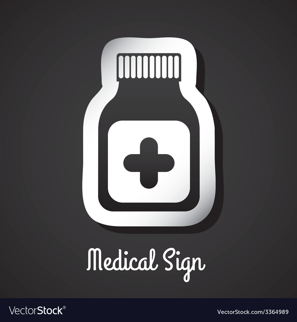 Medical sign design vector | Price: 1 Credit (USD $1)