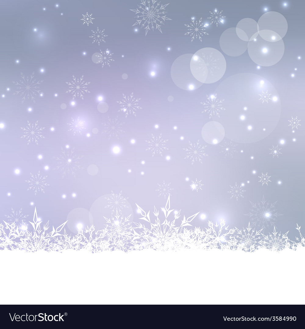 Abstract winter background vector   Price: 1 Credit (USD $1)