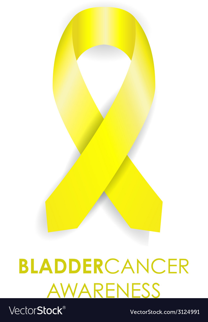 Bladder cancer ribbon vector | Price: 1 Credit (USD $1)