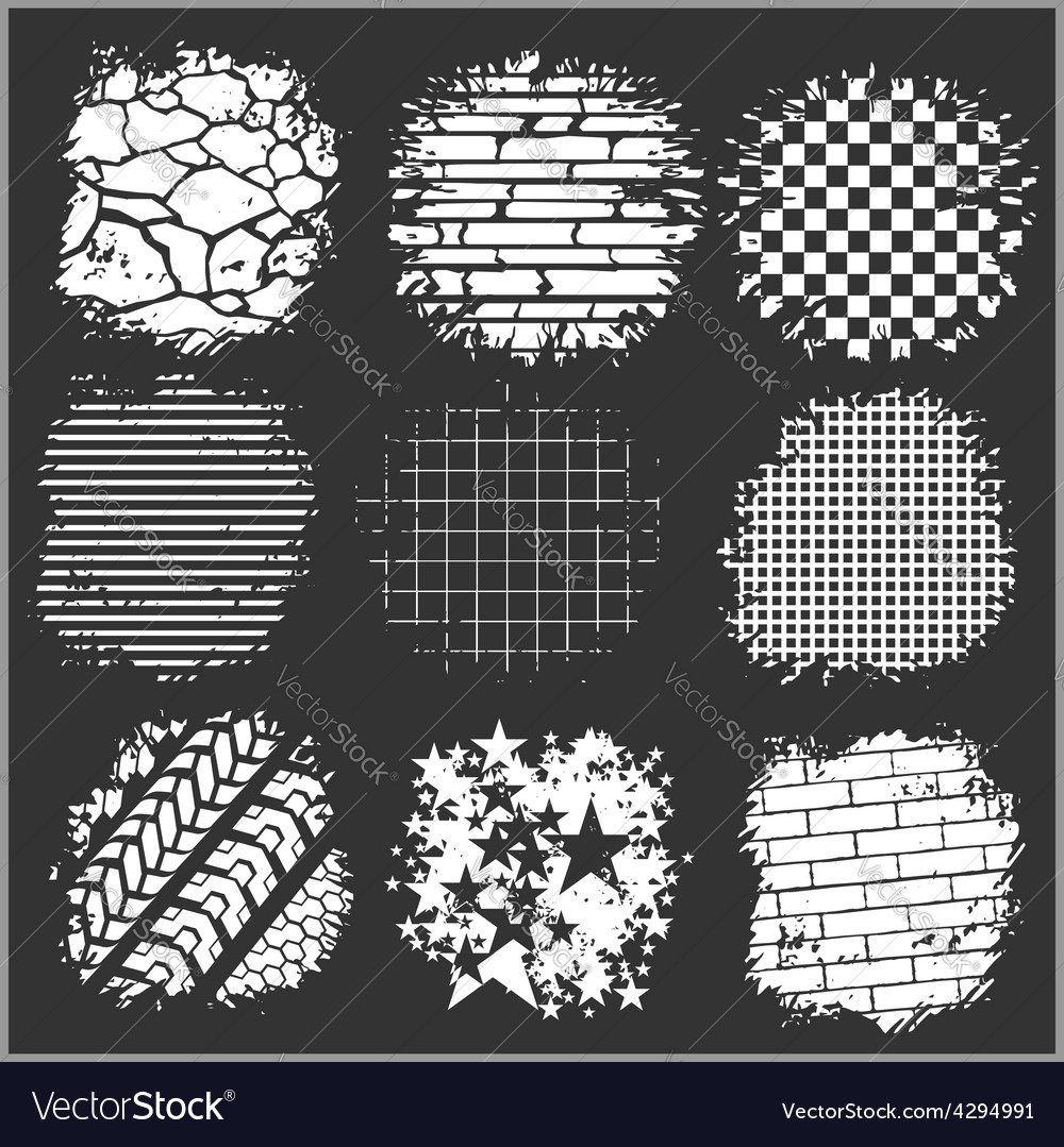 Grunge backgrounds - bricks tire tracks and vector | Price: 3 Credit (USD $3)