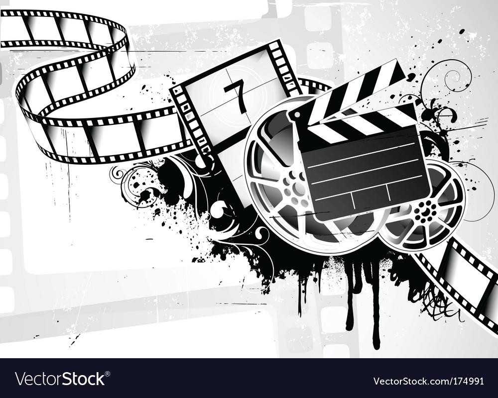 Movie background vector   Price: 1 Credit (USD $1)
