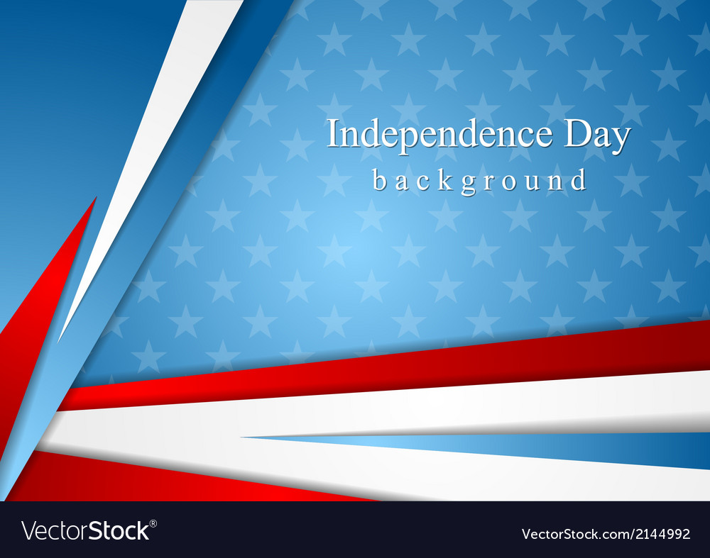 Abstract independence day background vector | Price: 1 Credit (USD $1)