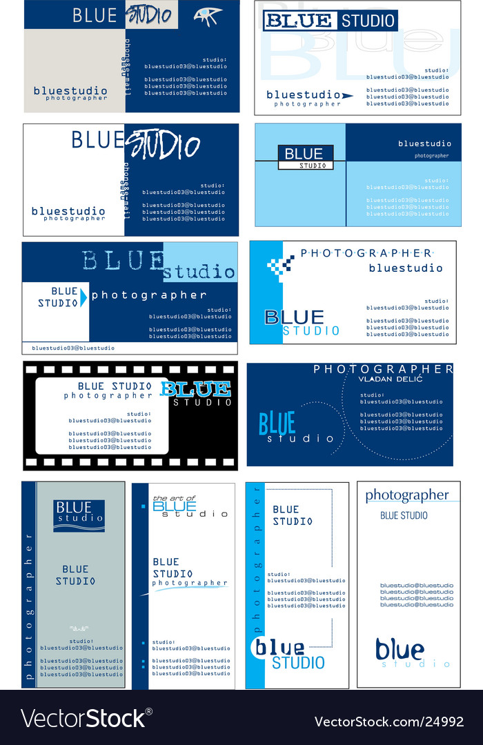 Business card templates vector | Price: 3 Credit (USD $3)