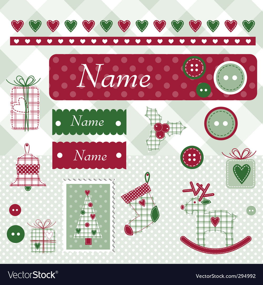Christmas design elements vector   Price: 1 Credit (USD $1)