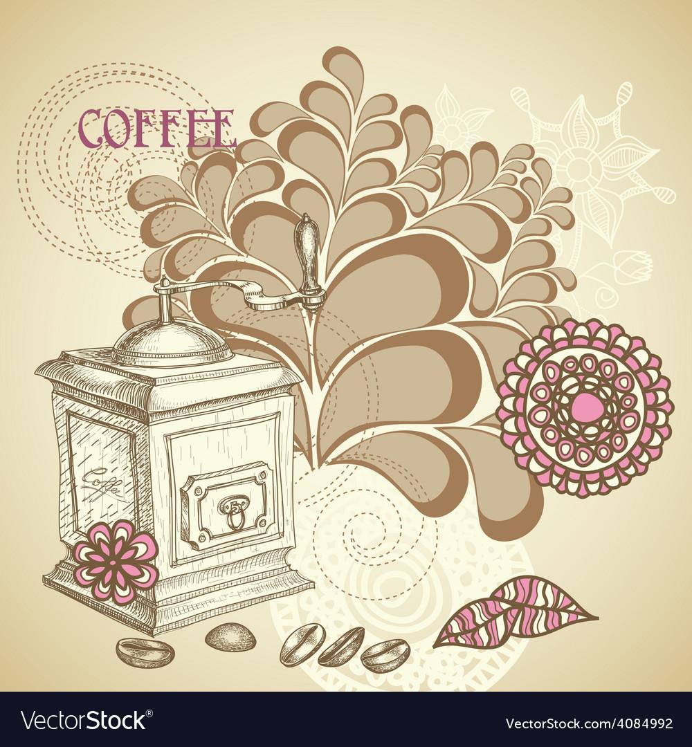 Coffee shop flyer vector | Price: 1 Credit (USD $1)