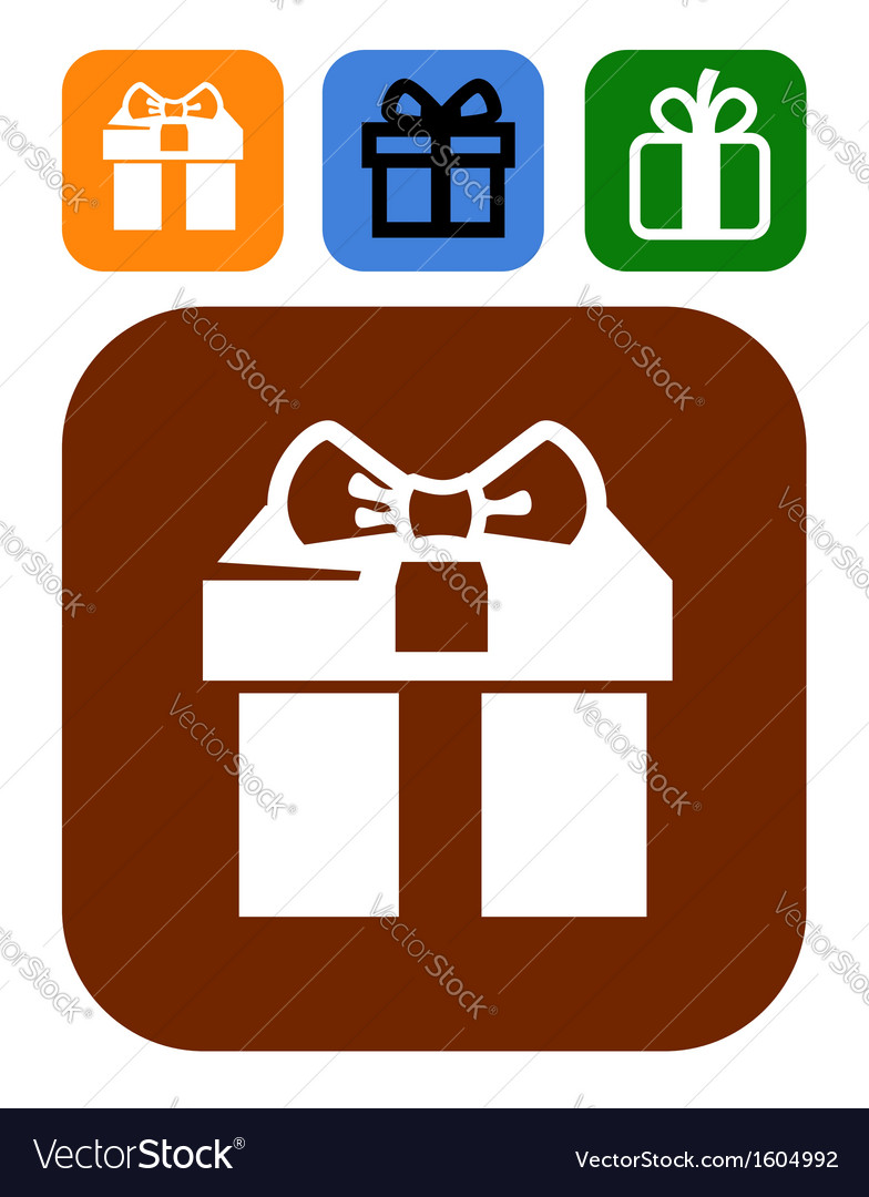 Gift icons vector   Price: 1 Credit (USD $1)