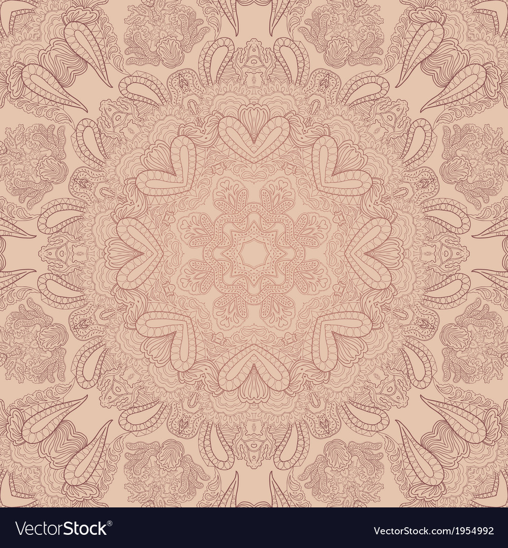 Pastel lace ornament vector | Price: 1 Credit (USD $1)
