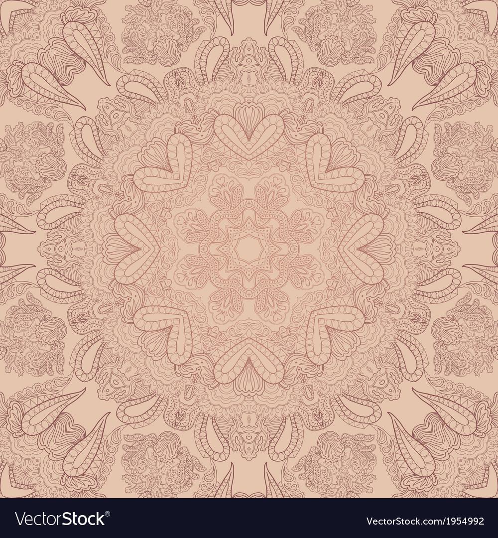 Pastel lace ornament vector | Price: 1 Credit (USD $1)