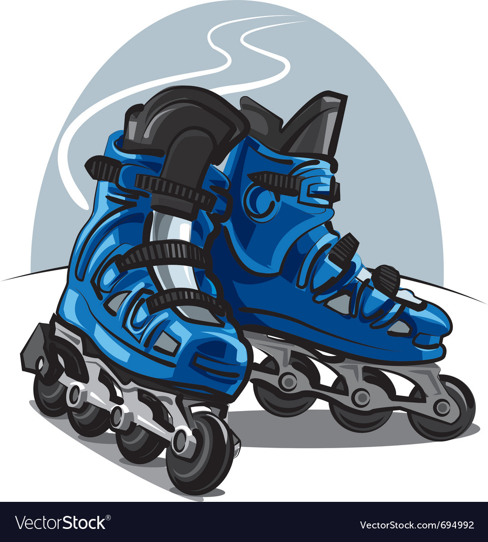 Roller skates vector | Price: 3 Credit (USD $3)