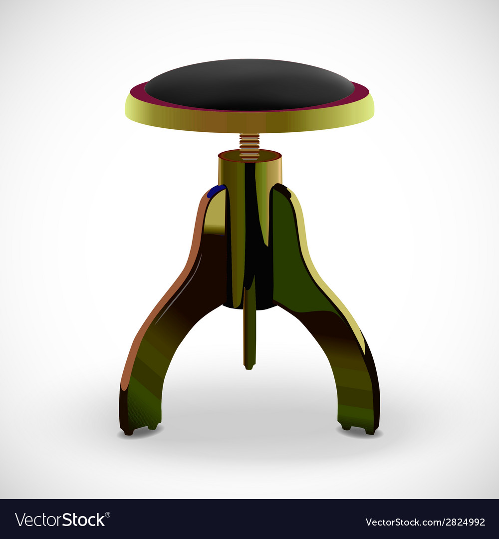 Stool for piano vector | Price: 1 Credit (USD $1)